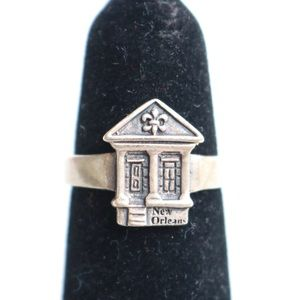 Jewelry - New Orleans Shotgun House Ring